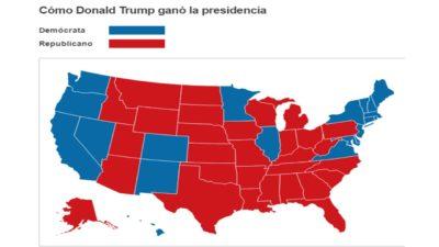 Trump votos mapa